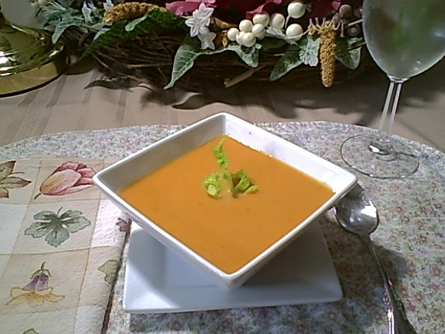 Cream of Pumpkin Soup, Gluten-Free