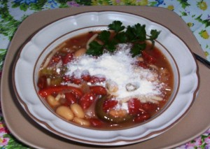 Minestrone, Quick and Easy - Gluten-Free