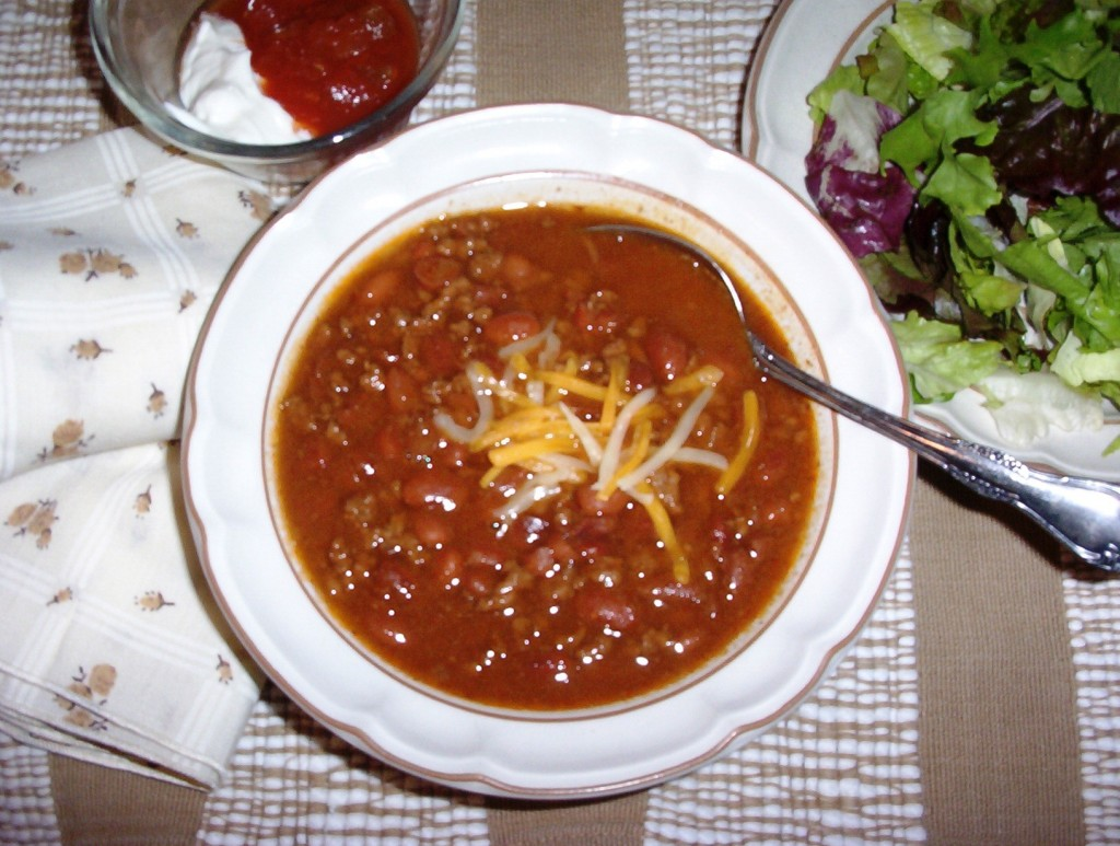 Gluten-Free Chili and Beans