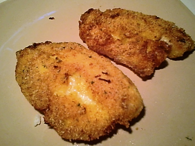 Fish Fillets Fried with Cornflake Crumb Breading
