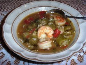 Gluten-Free Shrimp Gumbo - Light