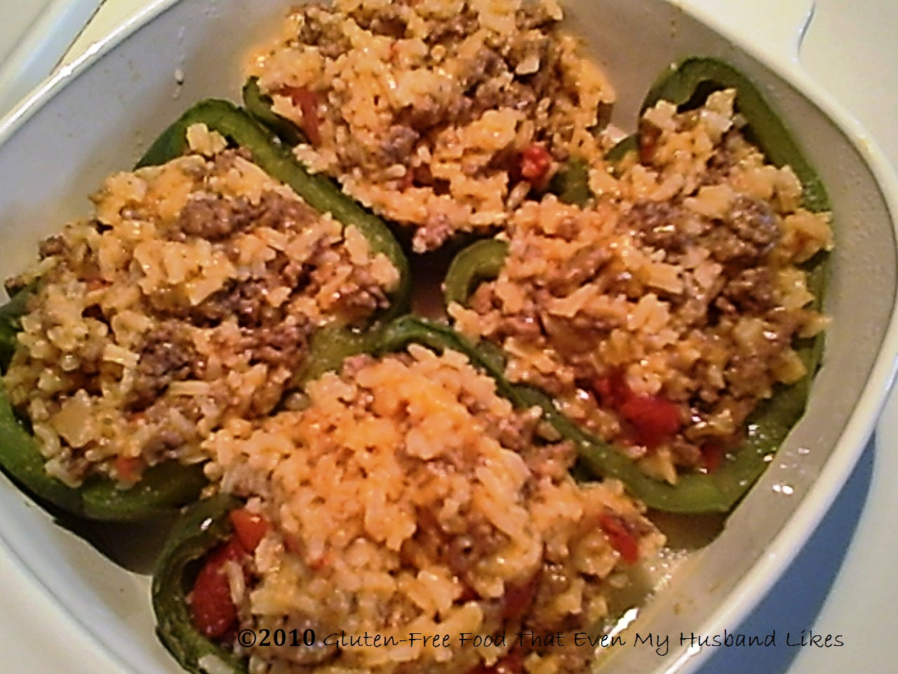 Stuffed Peppers, Gluten-free and Delicious
