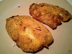 Fish Fillets Pan-Fried with Cornflake Crumb Breading -- Gluten-Free
