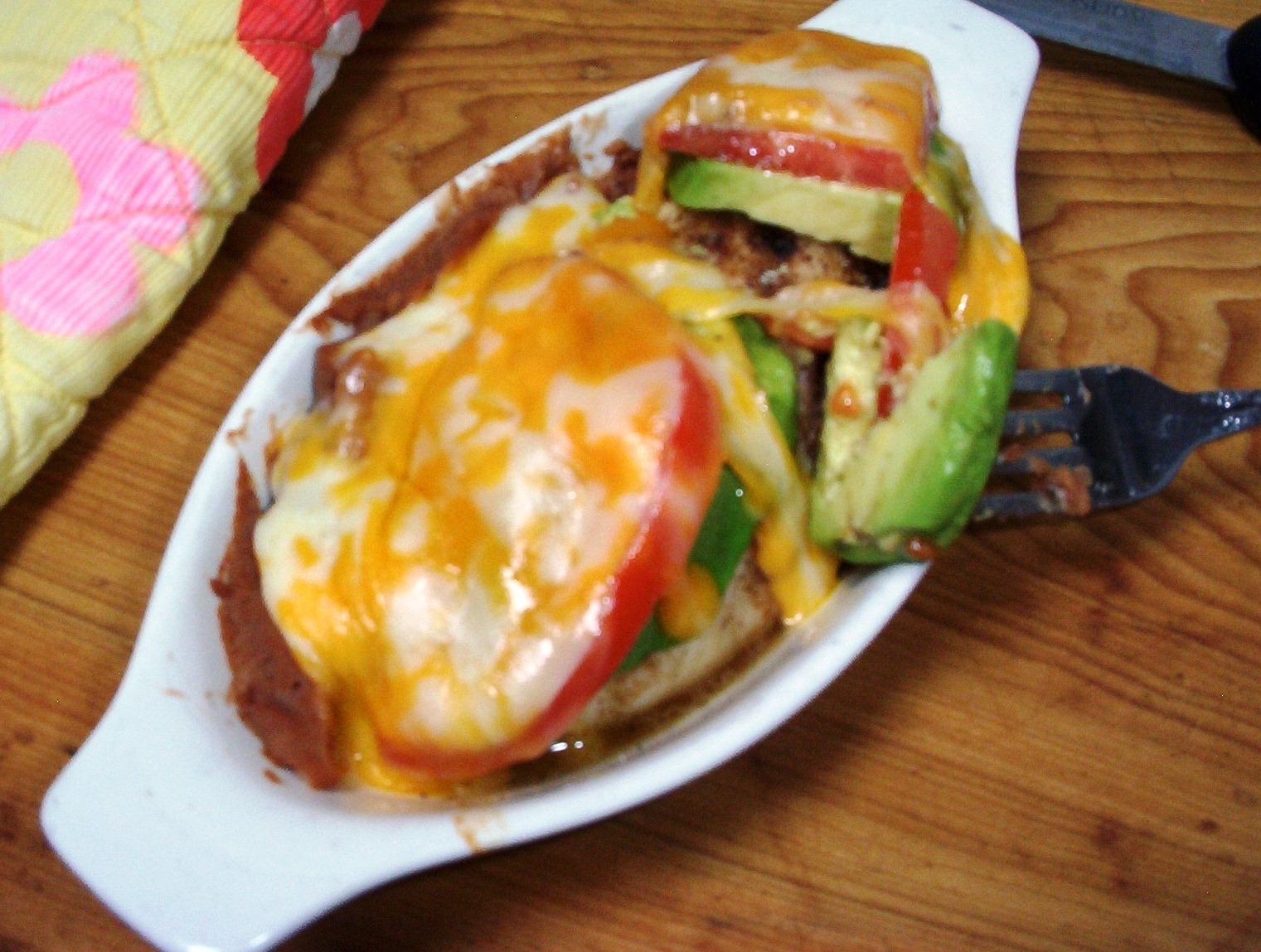 Avocado, Tomato and Cheese-Topped Chicken, Gluten-Free
