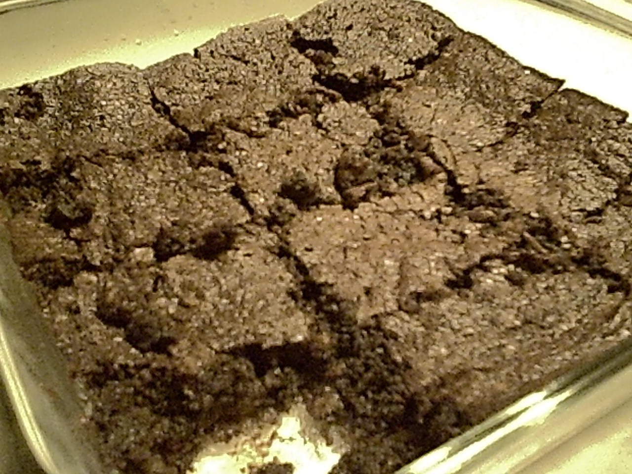 Gluten-Free Fudge Brownies Made with Cocoa and Lentils