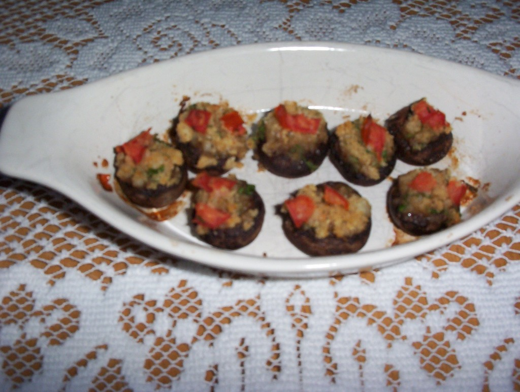 Gluten-Free Stuffed Mushrooms Appetizer