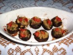 Stuffed Mushrooms Appetizer