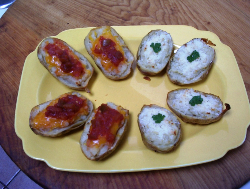 Gluten-Free Twice-Baked Potatoes