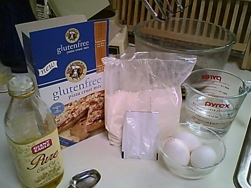 Pizza With King Arthur Flour's GF Pizza Crust Mix - Ready to begin