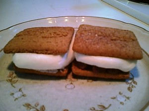 Gluten-free Chocolate Marshmallow Somemores