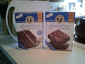 King Arthur Flour Gluten-Free Brownie and Chocolate Cake Mixes