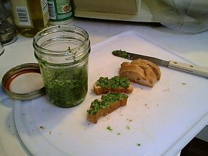 Gluten-Free Parsley Pesto