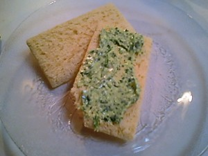 Parsley Sauce on Crispbread - Gluten-Free