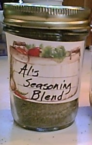 Personalized Gluten-Free Seasoning Blend