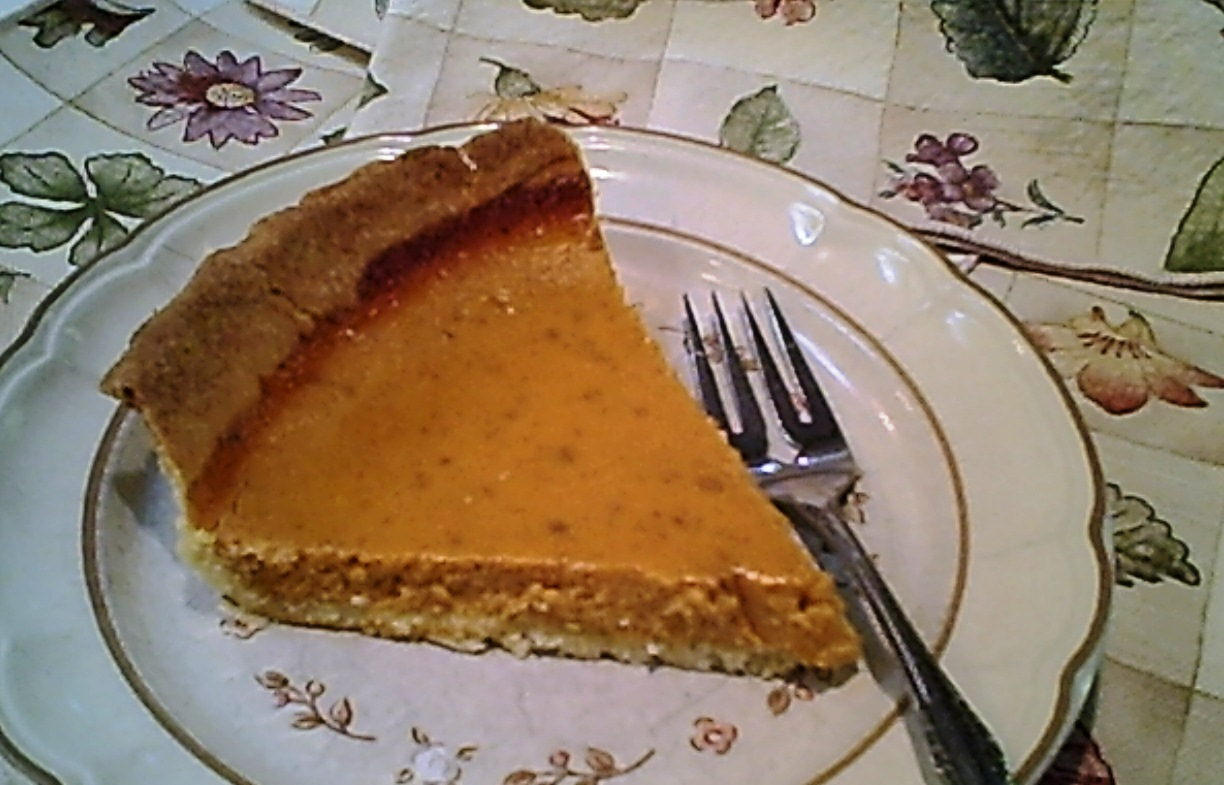 It Means Pumpkin Pie ... Yum!