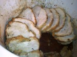 Sliced Gluten-Free Turkey Breast in the Crock Pot