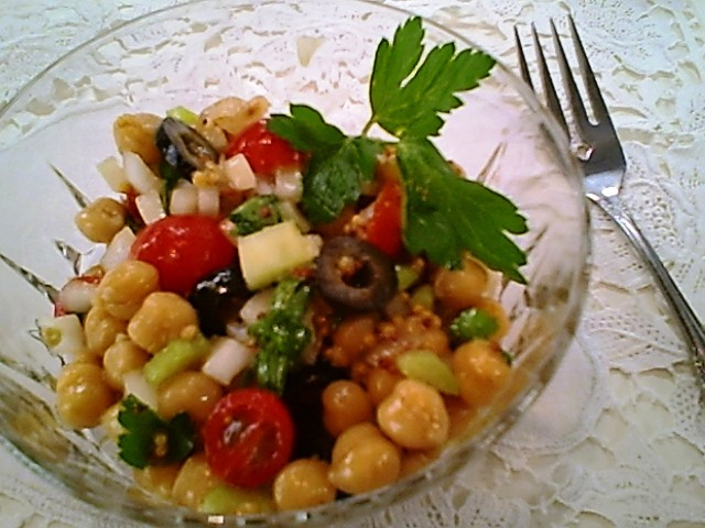 Bean Salad with Dijon Dressing - Gluten-Free