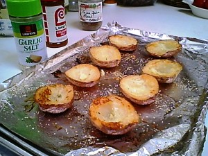 Redskin 'skins w Olive Oil & Garlic Salt - Gluten-Free