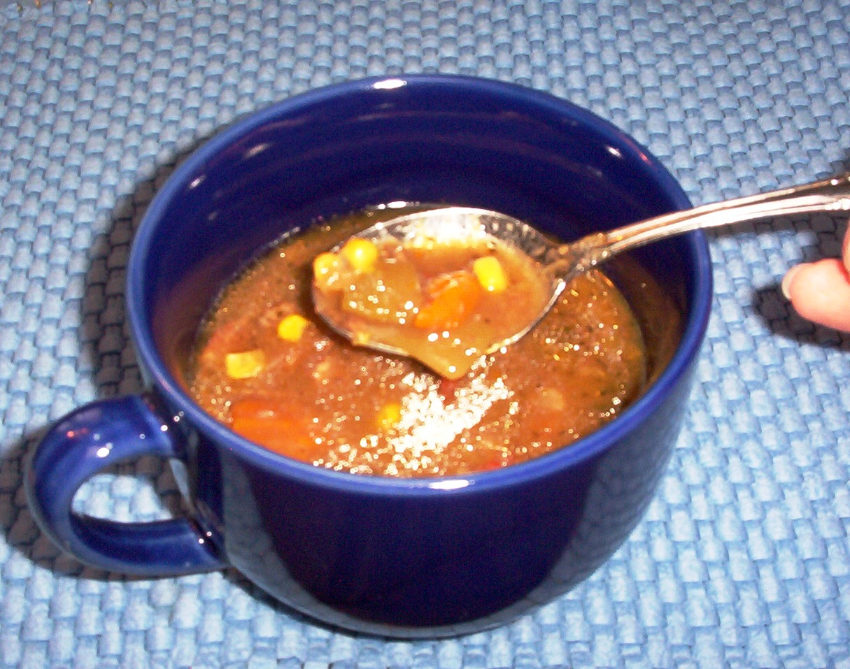 Beef Vegetable Soup with Italian Seasoning and Vegetables – Gluten-Free and Slow-Cooked