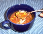 Beef Vegetable Soup with Italian Seasoning Made in the Crockpot