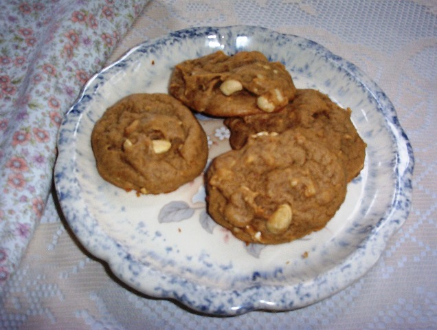 Peanut Butter Cookies with Cashews