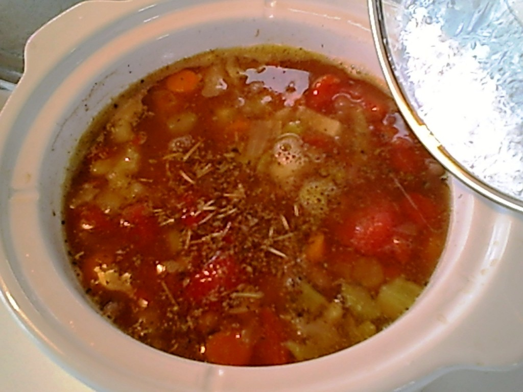 Black-Eyed Pea Soup with Veggies – Gluten-Free