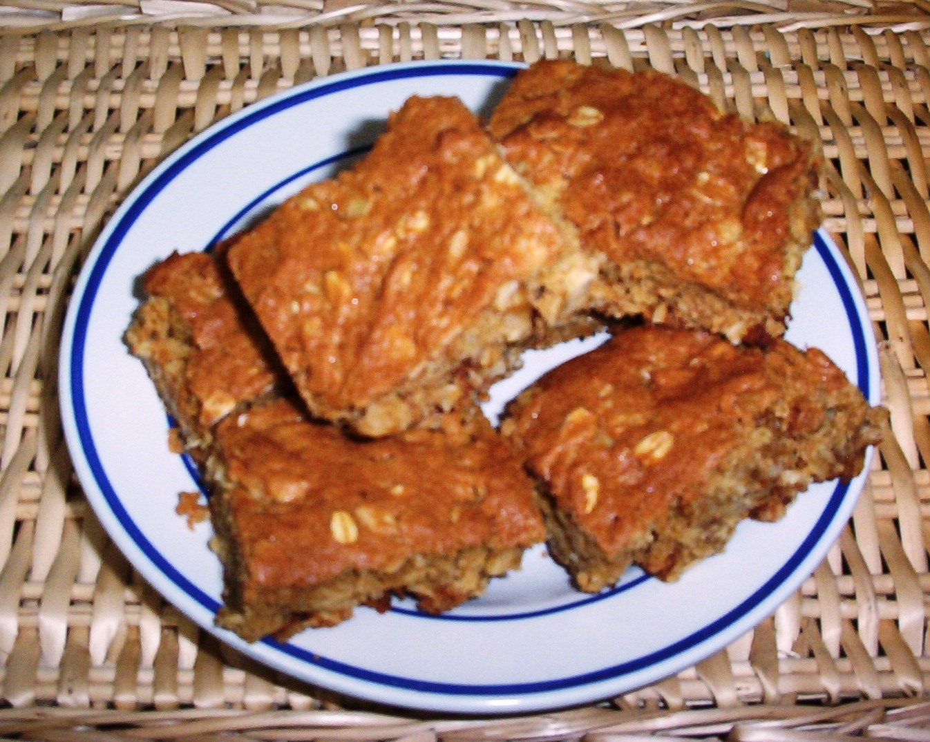 Oatmeal Raisin Walnut Bars – Gluten-Free