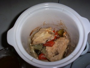 Finished Cooking -- Easy Gluten-Free Chicken Breasts in the Crockpot