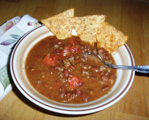 Gluten-Free Chili with Tomatoes