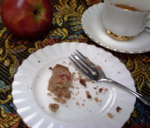 Gluten-Free Applesauce Cake...almost gone