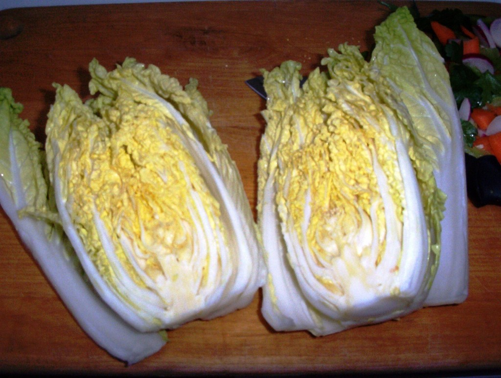 Napa Cabbage, Ideal for a Gluten-Free Diet