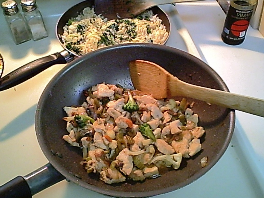 Gluten-Free Chicken Stir-Fry with Celery, Onion & Broccoli