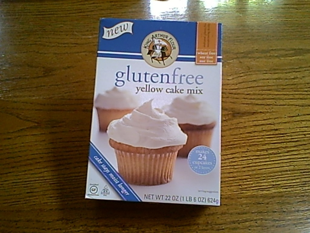 King Arthur Flour Gluten-Free Yellow Cake Mix in the Box