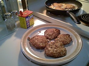 Gluten-Free Crab Cakes are simple to stir together, shape and sauté.
