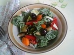 Gluten-Free Kale Salad with Balsamic Vinaigrette
