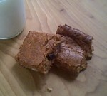 Gluten-Free Snacks - Oatmeal Bars with Molasses