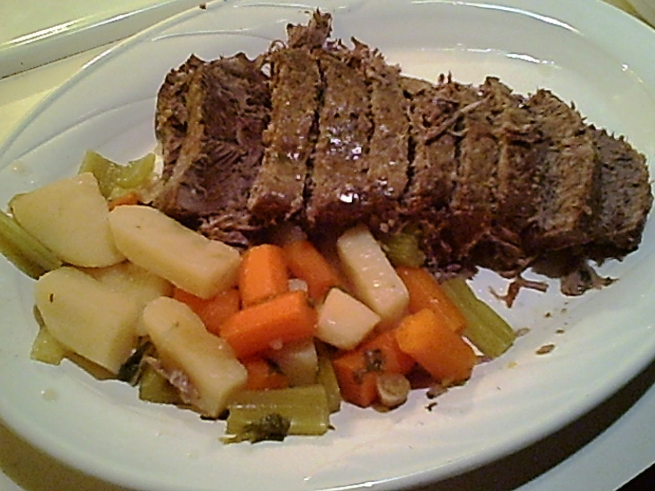 Gluten-Free Beef Pot Roast for the Crockpot with a Low-Carb Option
