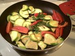 Gluten-Free Zucchini, Tomato & Parsley, Sauteed in Oil