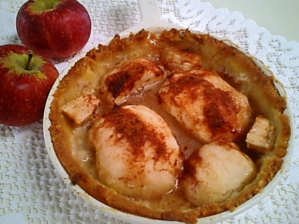 Pennsylvania Dutch Apple Tart with a Gluten-Free Crust