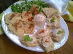 Gluten-Free Flatbread with Hummus