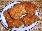 The Gluten-Free Diet Menu Plan for Jan 20, 2013 features Oatmeal Raisin Walnut Bars