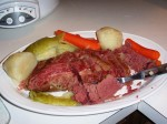 Gluten-Free Diet Menu Plan for the Week of March 17, 2013, Starts with Slow-Cooked Corned Beef Dinner