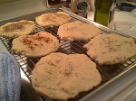 Homemade Flatbread... Just the thing for a June Cookout!