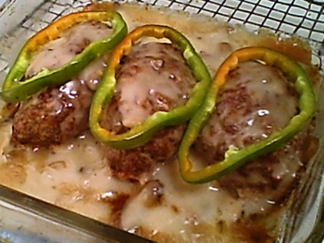 Gluten-Free Mini-Meat Loaf with Mushroom Sauce
