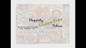 Elegantly Gluten Free Videos Background