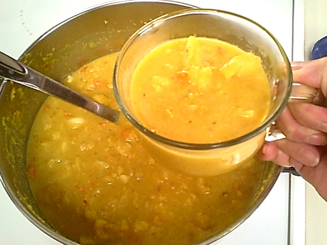 Curry Vegetable Lentil Soup