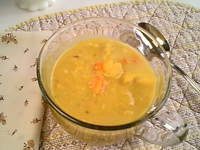 Angeline's Curry Vegetable Red Lentil Soup