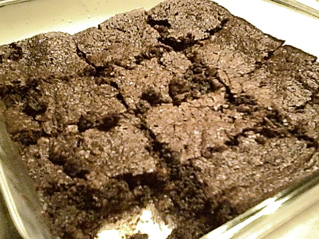 Fudge Brownies with Cocoa and Lentils