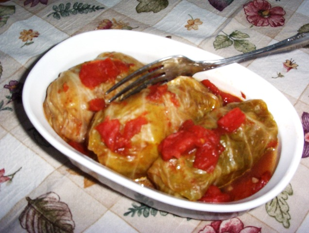 Gluten-Free Diet Menu Plan Begins with Cabbage Rolls