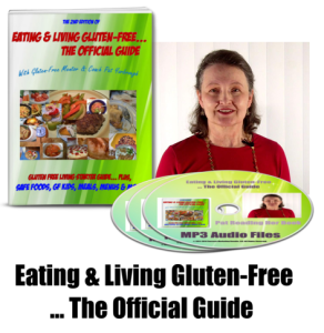 Eating & Living Gluten Free... The Official Guide Package
